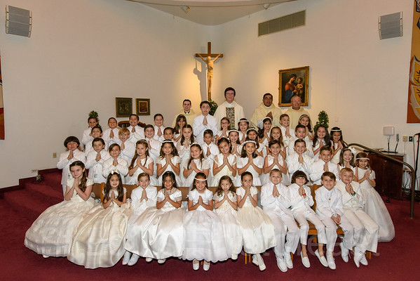 5/19/2018 - 10:00 AM - St. Louis School First Communion - by Alex Ledesma