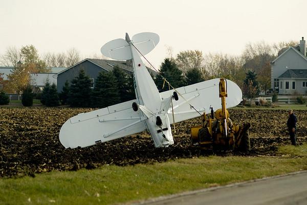 Plano Township Nov. 9, 2007 - Small Plane crash