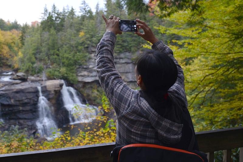 Lori Blackwater Falls 2.JPG