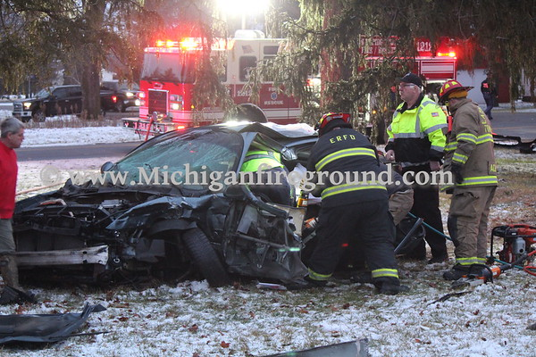 1/13/20 - Eaton Rapids Twp extrication, Waverly Rd & Plains Rd