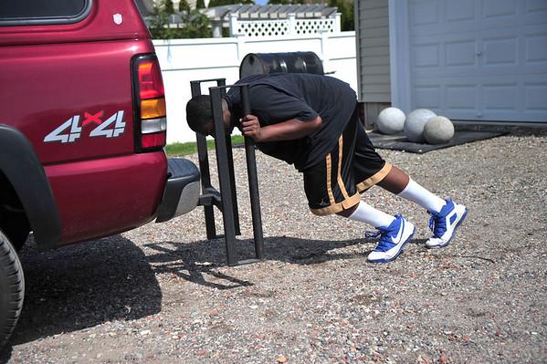 2010-04-03 Truck Push, E. Rockaway