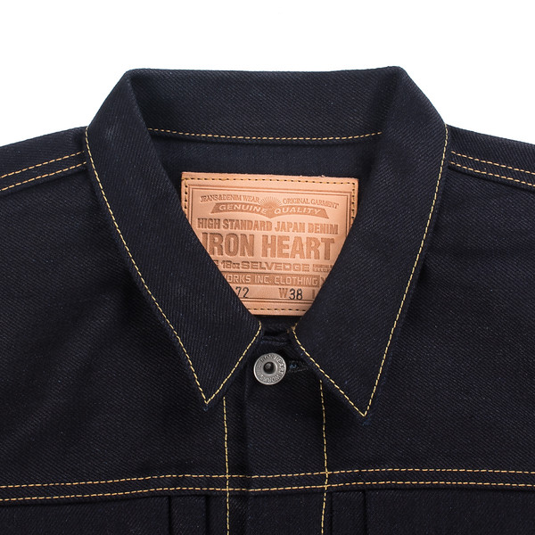 Indigo-Indigo 18oz Raw Selvedge Denim Type ll Jacket-26944.jpg
