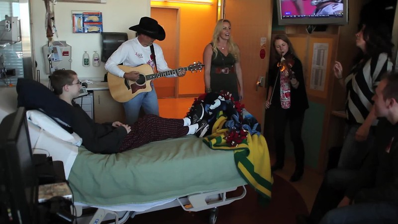 Country Music Project at Children Hospital.mov