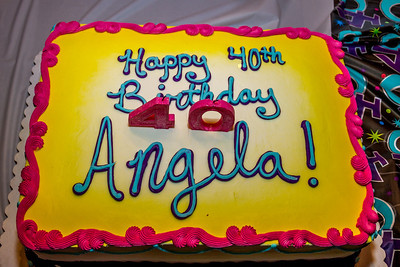 Angela Donnelly's 40th