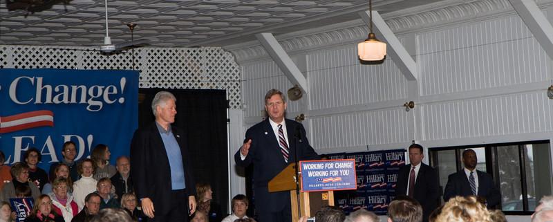 Bill Clinton Visit to Okoboji