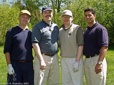 NYSRA Golf Outing 2001