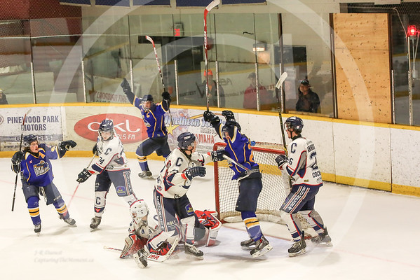 November 8th 2015, Miners Vs Cochrane Crunch.