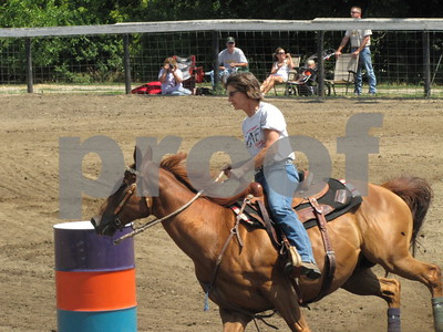 Barrel racing at Webster County Fairgrounds