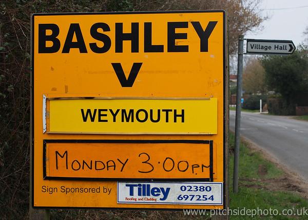 Bashley 1 Weymouth 0 - Southern League - 31/3/13
