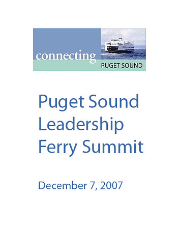 Leadership Ferry Summit
