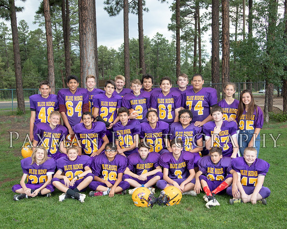 2018 BRJHS 8th Football