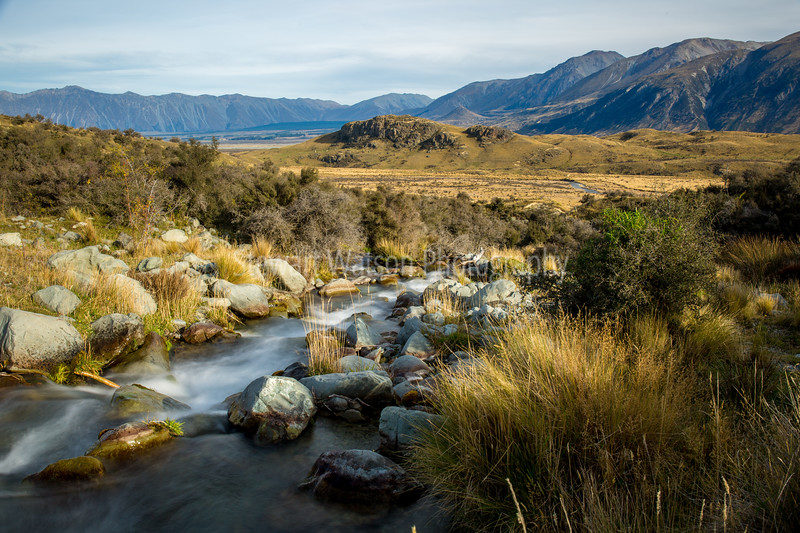 Mt Sunday waterfall (Edoras in Lord of the Rings)