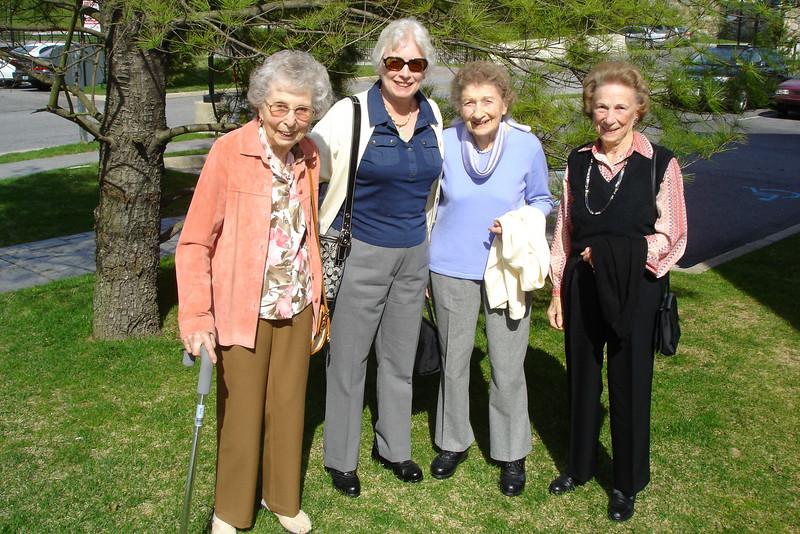 Heidi, Susan, Helen and Amelia