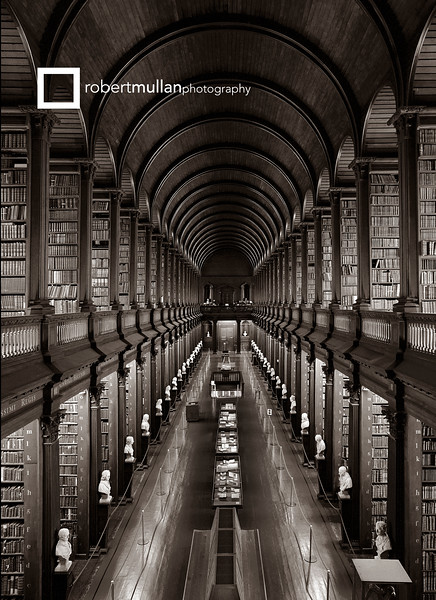 The Long Room, the Library of Trinity College, Dublin, Rep of Ireland