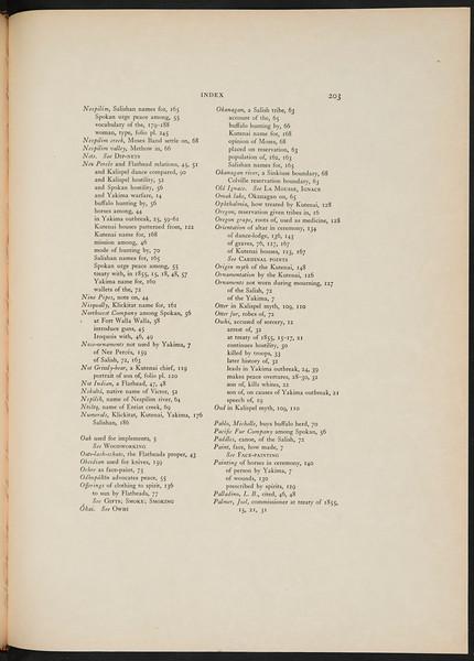 The Yakima. The Klickitat. Salishan tribes of the interior. The Kutenai, 1911