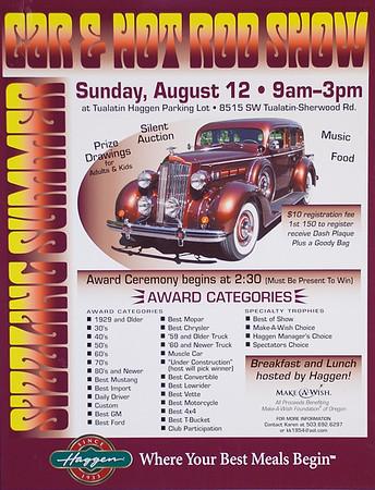 Sizzling Summer Car & Hot Rod Show