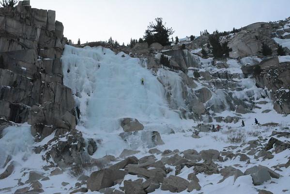 Ice Climbing January 14, 2016