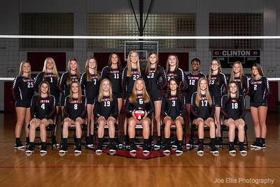 Clinton Volleyball 2018