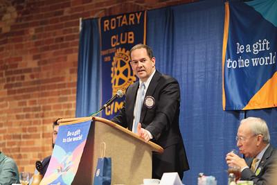 Rotary Club Talk