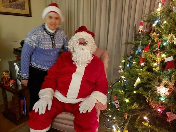 Patricia & Santa Norm