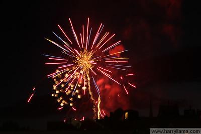 Burlington Fireworks 2010