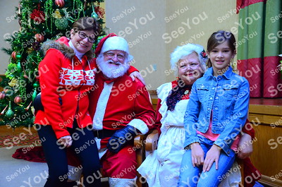 Photos with Santa 11-30-13
