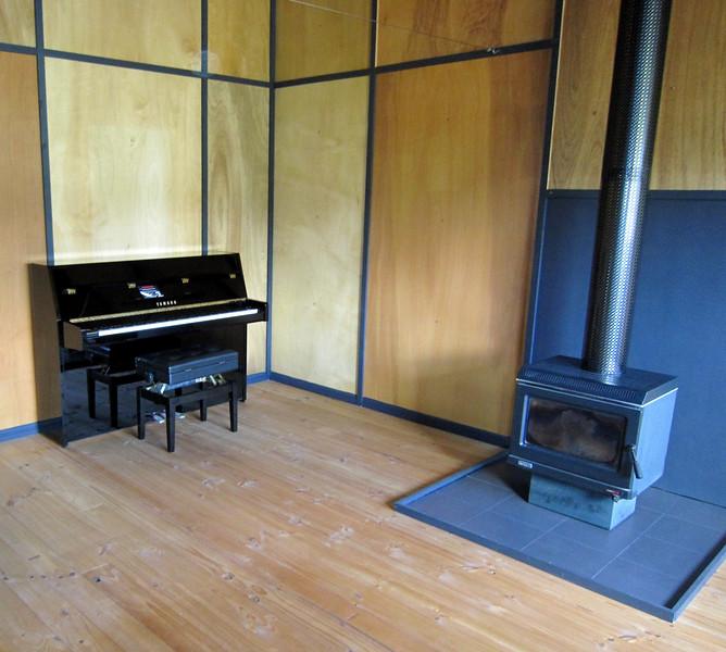 New Piano in the Studio