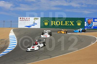 2012 RMMR Sat Group 8A Rolex Monterey Motorsport Reunion Race Group 8A