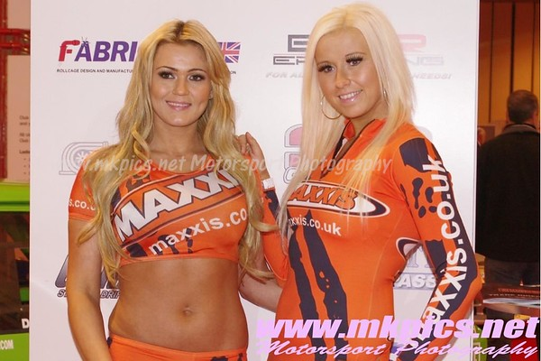 Pit Babes from the Autosport International, 13 to 15 Jan 2012