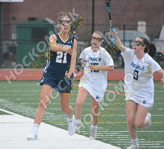 Franklin - Foxboro Girls Lacrosse 5-16-18