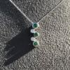 Tiffany & Co. Diamond and Tsavorite Bubble Pendant 22