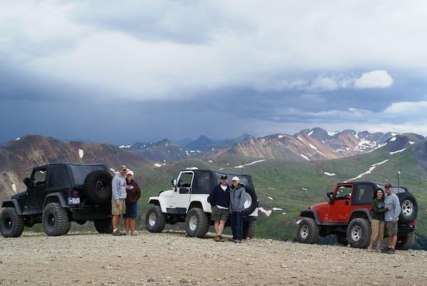 Aug 3 & 4, 2008 - Colorado Jeeping