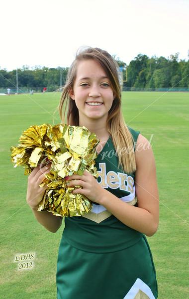 LDHS Football Cheerleaders 2012-2013