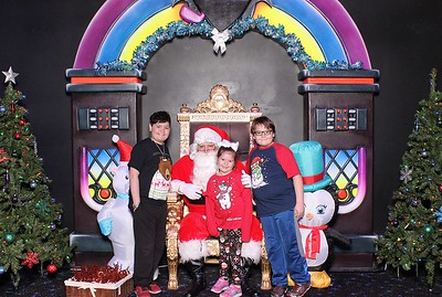 Santa Photos with Candlelighters