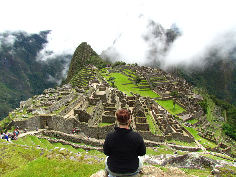 Lina Stock at Machu Picchu - things to do in Cusco