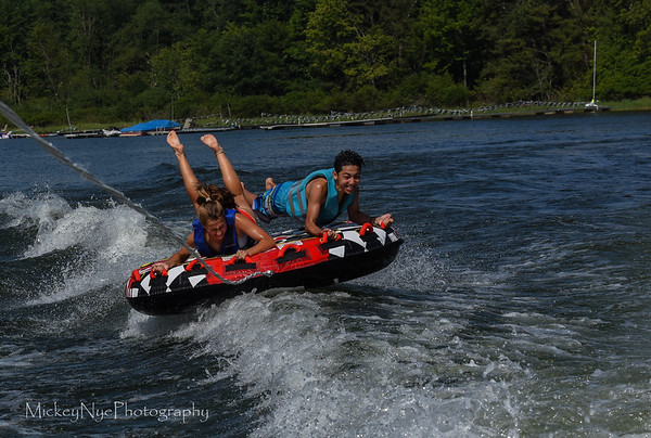 Tubing   07-04-18  With friends