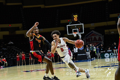 Rogers State Univ. Men's Basketball vs. Pittsburg State Univ. MIAA 2020