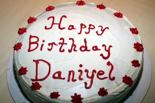 DANIYEL'S BIRTHDAY - OCTOBER 15, 2017