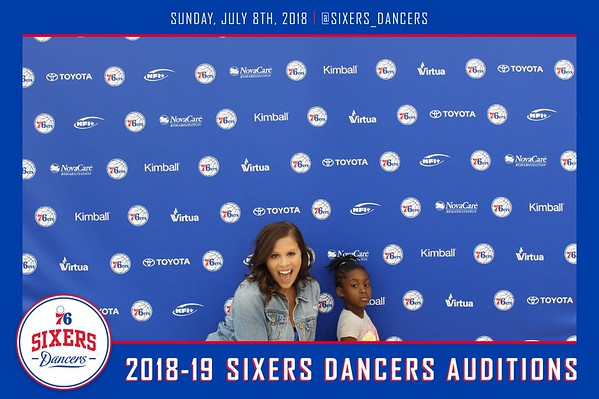 76ers 2018 auditions