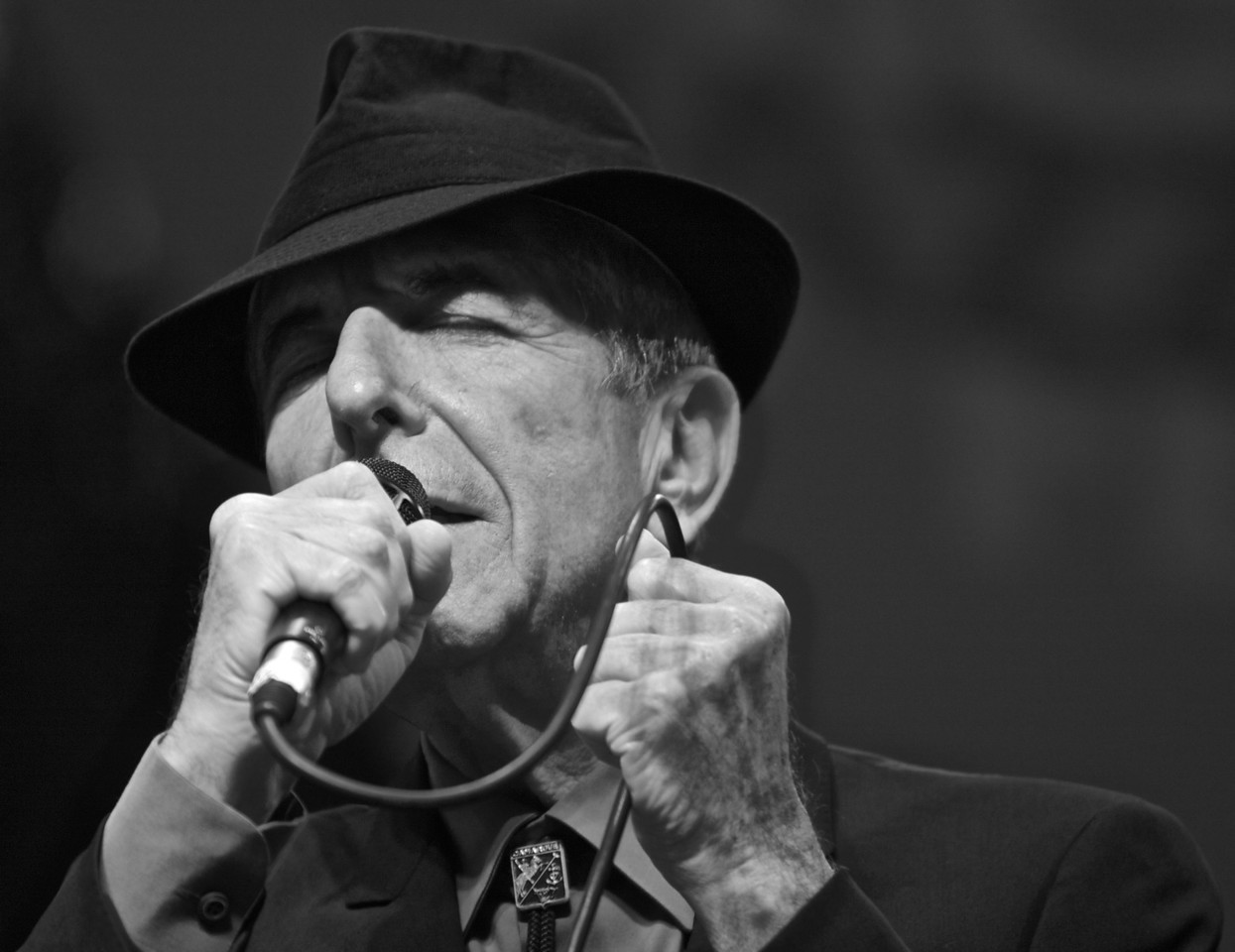 Leonard Cohen at Cimiez