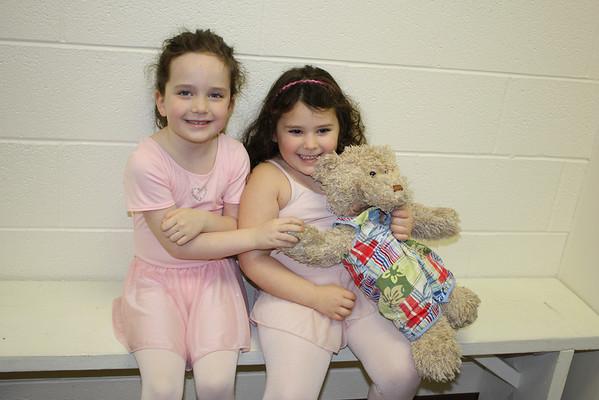 Hailey at Ballet Class 3/7/09