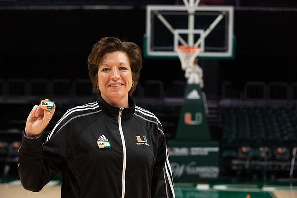 Coach Katie Meier