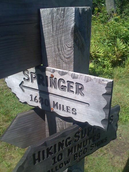 Kent Pond sign