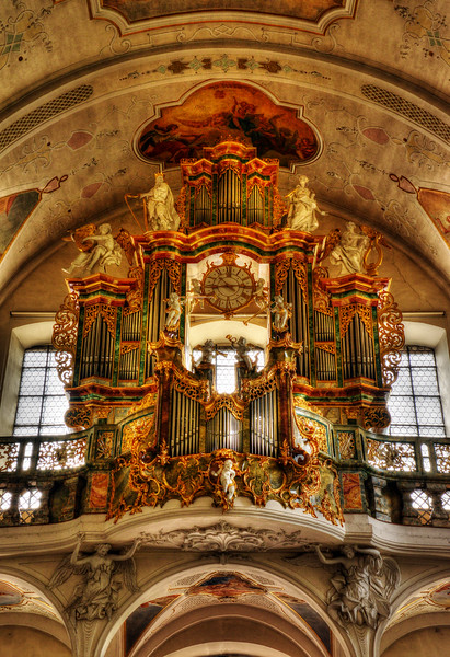 The Organ At The Cologne Cathedral
