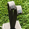 Art Deco Diamond and Emerald Disc Earrings 42