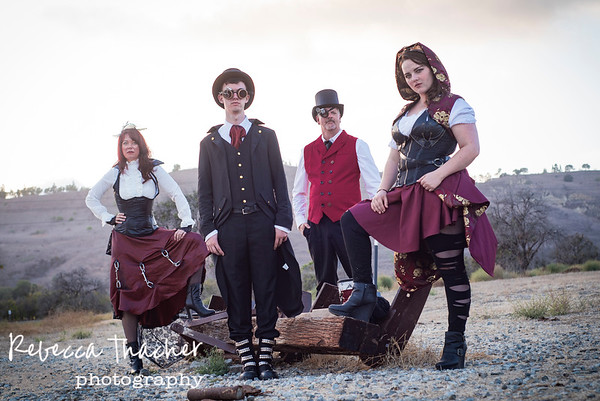 Baker Family . Steampunk Love