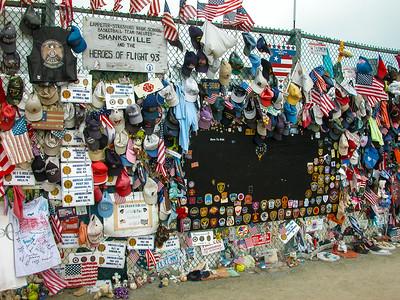 Flight 93  9/11 crash site  Shanksville  PA