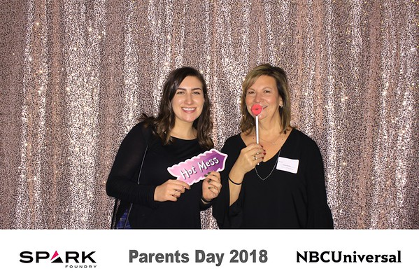 """NBC Universal & Spark Foundry """"Parents Day 2018"""""""