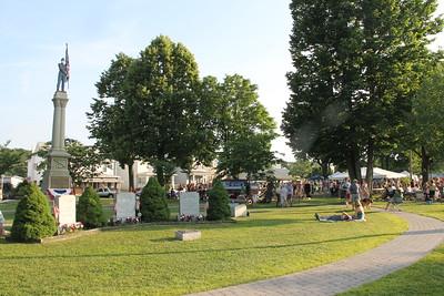 Hootenanny, Ludlow Park, Summit Hill (6-29-2014)