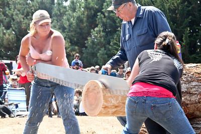 Logging Show: Double Buck-Jack&Jill